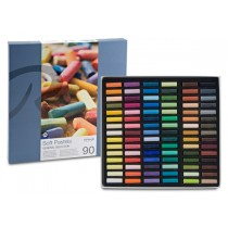 Soft Pastels Cardboard Box Set of 90
