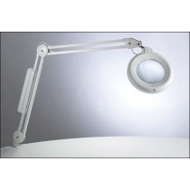 Daylight Slimline Fluorescent Magnifier Lamp And Accessories