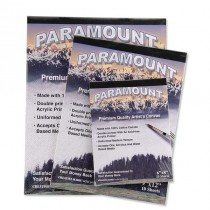 Paramount 10 Sheet Cotton Canvas Pad 6x8""