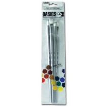 Liquitex Basics White Nylon Brush Sets