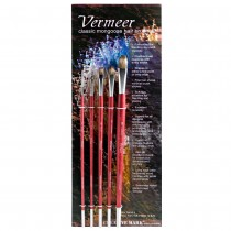 Vermeer Classic Mongoose Hair Brush Explorer Sets