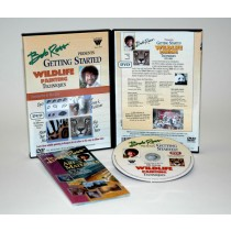 Bob Ross Wildlife Series DVDs