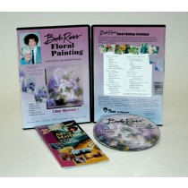 Bob Ross Floral Series DVDs