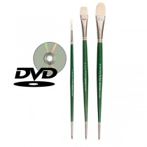 Pro Swipe Oil and Acrylic Brush Sets