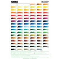 Schmincke Mussini Fine Artists Oil Color Chart