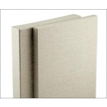 """Senso Clear Primed Stretched Linen Canvas 3/4"""" Deep"""
