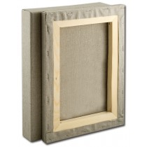 """Senso Clear Primed Stretched Linen Canvas - 1-1/2"""" Boxes Of Three"""