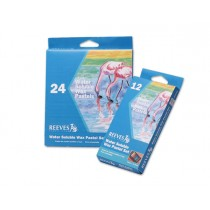Reeves Water Soluble Wax Pastel Sets