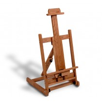American Easel Solid Oak Table Top Easel