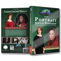 Portrait Sketch Workshop in Acrylics DVD with Luana Luconi Winner