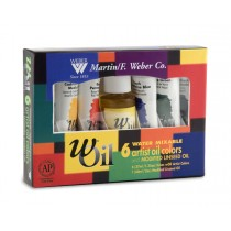 Weber Water Mixable wOil Color Set of 6