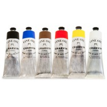 Charvin Fine Oil Painting - Value Set