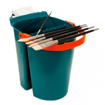 SoHo Urban Artist Brush Cleaning System 10 Liter Bucket