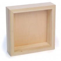 """These painting panels feature Birch plywood on solid poplar 7/8"""" deep wood cradles."""