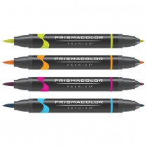 Prismacolor Premier Double-Ended Brush Tip Markers