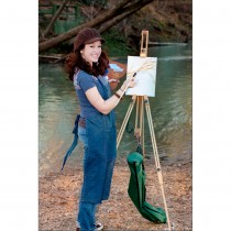 Made from smooth, oiled beech wood with sturdy hardware, the St. Paul easel is easy to carry and easy to use!