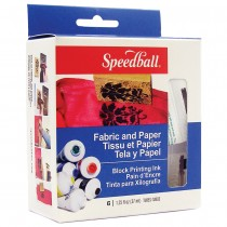 Fabric & Paper Block Printing Ink Set