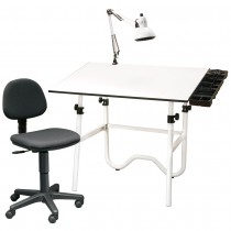 Onyx Creative Center Drafting And Drawing Table Sets