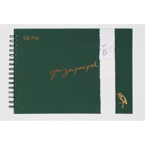 Garzapapel Handmade Ink Paper Notebook