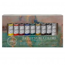 Artists Oil Colors Introductory Set of 9 Colors