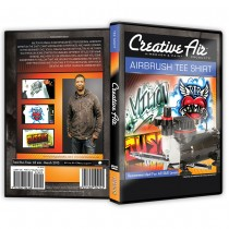 Airbrush Tee Shirt DVD