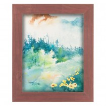Country Chic Wide Alabama Red Frames