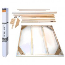 Fredrix PRO Dixie Canvas Kit - Stretch Your Own Canvas
