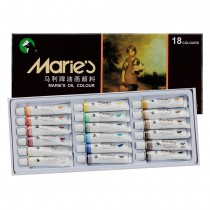 Maries ExtraFine Artists Oil Colour Set of 18