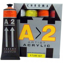Chroma A>2 Student Acrylic Set of 8