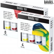 Liquitex Heavy Body Acrylic Mixing Primary Sets