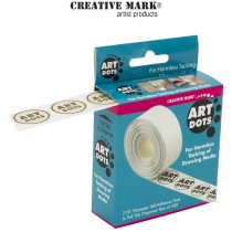Creative Mark Art Dots: Drafting tape dots