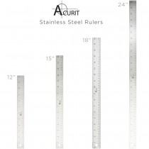Acurit Stainless Steel Rulers