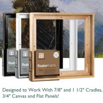 Finally! A Frame for Wood Panels!