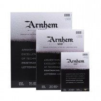 Arnhem 1618 Printmaking Paper Pads 10 Sheets 90lb. Gluebound