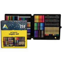 Art Alternatives Kids Art Supply 258 Piece Super Set.
