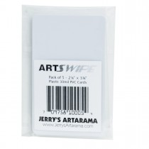 ArtSwipes Art & Paint Plastic Cards, 5 Pack
