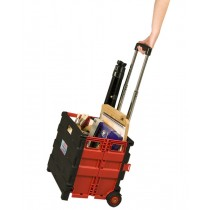 Austin Supply Roller Crate Red