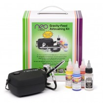 Iwata NEO Complete Airbrush Kit with packaging
