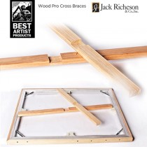 BEST Wood Pro Cross Braces for Aluminum Stretcher Bars