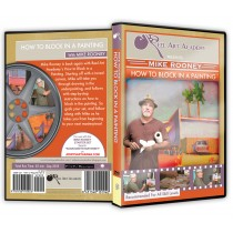 Mike Rooney Oil Painting DVDs