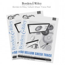 Borden & Riley #90 Vellum Sheer Trace Papers