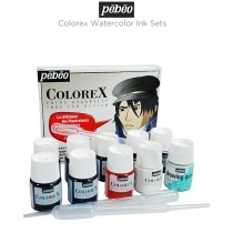 Pebeo Colorex Watercolor Ink Sets