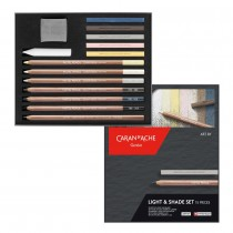 Caran d'Ache Art by Light & Shade Set