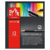 Caran d'Ache Museum Aquarelle Pencils Artist Set of 12