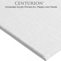 Centurion All-Media Acrylic Primed Linen Panels - 3 Packs