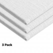 AllMedia Primed Linen Panels 3Pack 4x6""