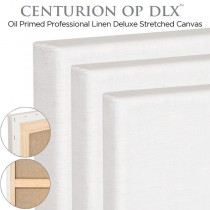 Centurion OP DLX - Oil Primed Linen Stretched Canvas