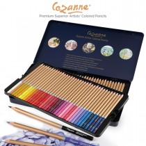 Cezanne® Premium Colored Pencils Tin Set of 72