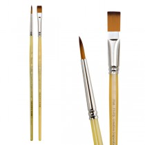 Try-It! Creative Inspirations Short Handled Brushes Pack of 2