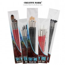 Creative Mark Try Me Brush Sets - Brushes for all Medias and Painting Styles